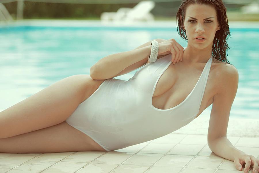 Maria Elena Monego model (modella). Photoshoot of model Maria Elena Monego demonstrating Body Modeling.Body Modeling Photo #135252