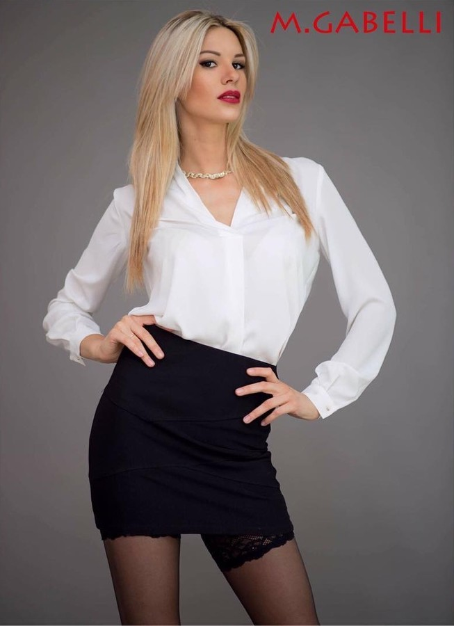 Maria Elena Monego model (modella). Maria Elena Monego demonstrating Fashion Modeling, in a photoshoot by Michele Gabelli.photographer: Michele GabelliFashion Modeling Photo #172329