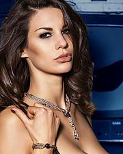 Maria Elena Monego model (modella). Photoshoot of model Maria Elena Monego demonstrating Face Modeling.Face Modeling Photo #205772