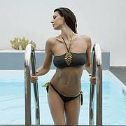 Maria Elena Monego model (modella). Photoshoot of model Maria Elena Monego demonstrating Body Modeling.Body Modeling Photo #212385