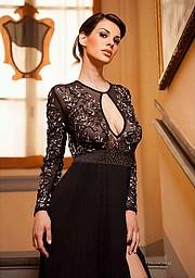 Maria Elena Monego model (modella). Photoshoot of model Maria Elena Monego demonstrating Fashion Modeling.Fashion Modeling Photo #217216