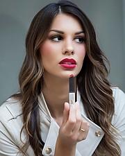 Maria Elena Monego model (modella). Photoshoot of model Maria Elena Monego demonstrating Face Modeling.Face Modeling Photo #217218