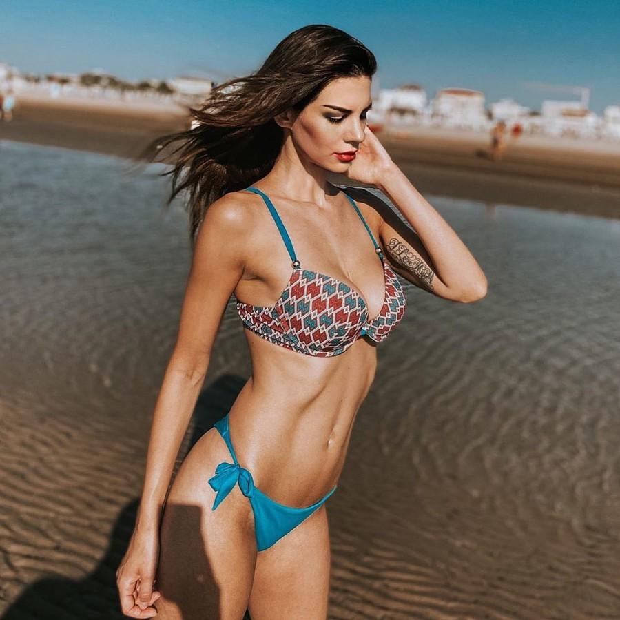Maria Elena Monego model (modella). Photoshoot of model Maria Elena Monego demonstrating Body Modeling.Body Modeling Photo #232090