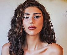 Maria Fotoy model (Μαρία Φώτου μοντέλο). Photoshoot of model Maria Fotoy demonstrating Face Modeling.@hrw_f @click_it_photogrFace Modeling Photo #228183