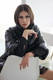 Maria Fotoy model (Μαρία Φώτου μοντέλο). Photoshoot of model Maria Fotoy demonstrating Face Modeling.Face Modeling Photo #228198
