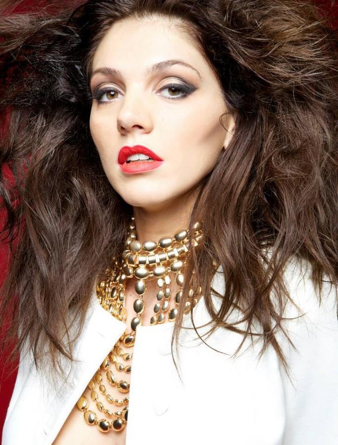 Maria Iuliana Somu model (μοντέλο). Photoshoot of model Maria Iuliana Somu demonstrating Face Modeling.Face Modeling Photo #145124