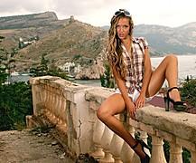 Maria Kharitonova model (модель). Modeling work by model Maria Kharitonova. Photo #74171