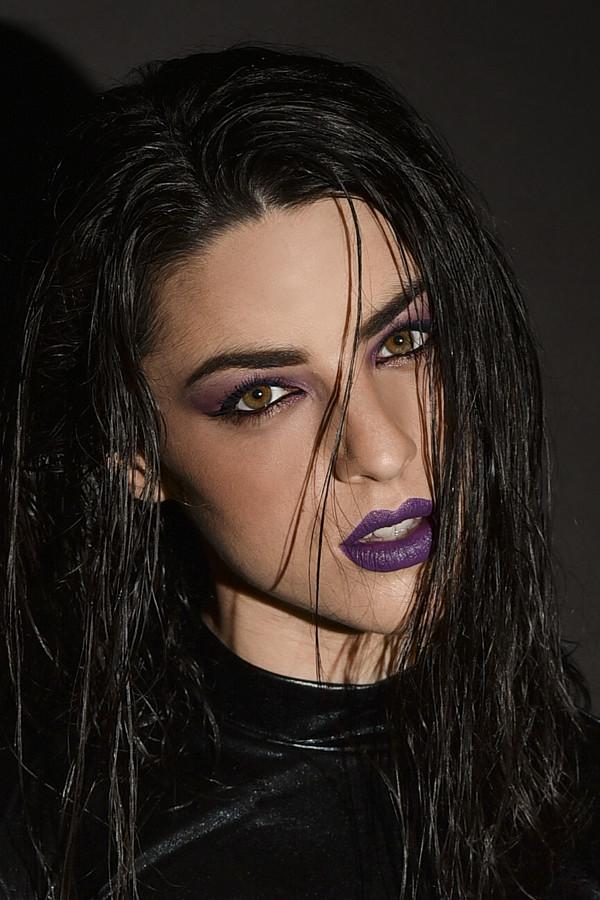 Marianna Nina Gkougkoustamou model (μοντέλο). Photoshoot of model Marianna Nina Gkougkoustamou demonstrating Face Modeling.Face Modeling Photo #199453