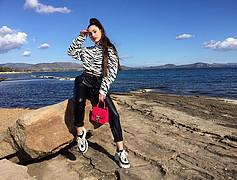 Marianna Votsi model (μοντέλο). Photoshoot of model Marianna Votsi demonstrating Fashion Modeling.Fashion Modeling Photo #221536