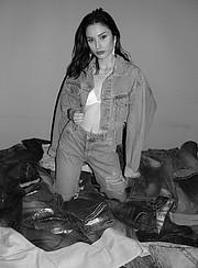Marianna Votsi model (μοντέλο). Photoshoot of model Marianna Votsi demonstrating Fashion Modeling.Fashion Modeling Photo #221892
