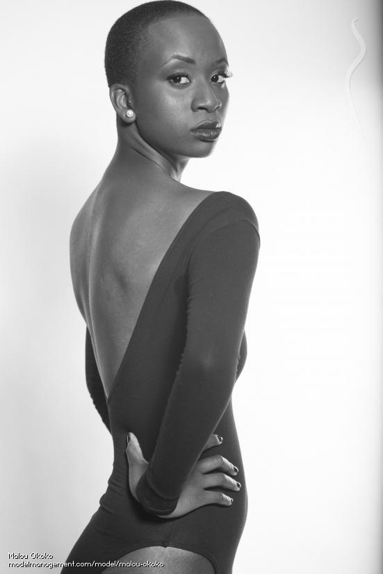 Marie Louise Okoko model. Photoshoot of model Marie Louise Okoko demonstrating Face Modeling.Face Modeling Photo #120551