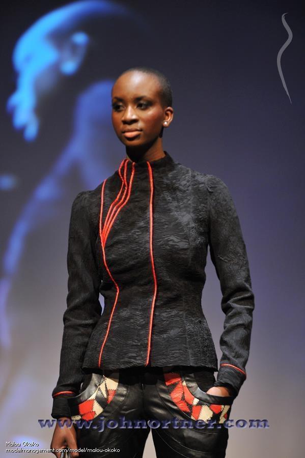 Marie Louise Okoko model. Photoshoot of model Marie Louise Okoko demonstrating Runway Modeling.Runway Modeling Photo #120552