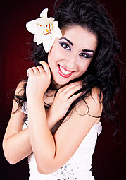Marilyn Yusuf model (модел). Photoshoot of model Marilyn Yusuf demonstrating Face Modeling.Face Modeling Photo #73340