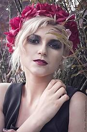 Marina Bondarevska model (μοντέλο). Photoshoot of model Marina Bondarevska demonstrating Face Modeling.Face Modeling Photo #165971