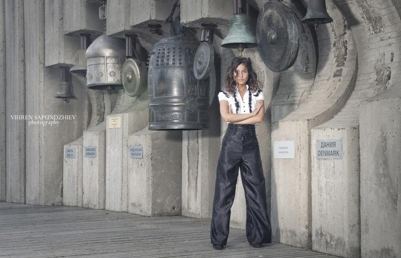 Marina Vlaykova model (модел). Photoshoot of model Marina Vlaykova demonstrating Editorial Modeling.Editorial Modeling Photo #73381