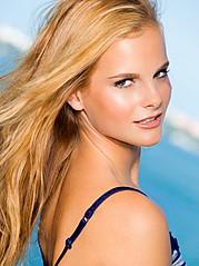 Marine Guadalpi model. Photoshoot of model Marine Guadalpi demonstrating Face Modeling.Face Modeling Photo #116891