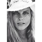 Marine Guadalpi model. Photoshoot of model Marine Guadalpi demonstrating Face Modeling.Face Modeling Photo #116899