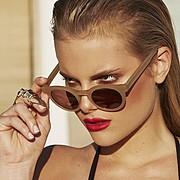 Marine Guadalpi model. Photoshoot of model Marine Guadalpi demonstrating Face Modeling.EyewearFace Modeling Photo #116900