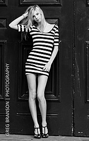 Marisol Calvert model. Marisol Calvert demonstrating Fashion Modeling, in a photoshoot by Greg Branson.Fashion Modeling Photo #78451