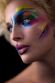 Marta Kopaczynska makeup artist. Work by makeup artist Marta Kopaczynska demonstrating Creative Makeup.Creative Makeup Photo #106117