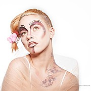 Marta Kopaczynska makeup artist. Work by makeup artist Marta Kopaczynska demonstrating Creative Makeup.Face PaintingCreative Makeup Photo #106118