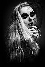 Marta Santorova makeup artist & model (Marta Šantorová makeupová umělkyně & modelka). Work by makeup artist Marta Santorova demonstrating Beauty Makeup.Beauty Makeup Photo #92726