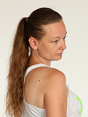 Martha Geselle model. Photoshoot of model Martha Geselle demonstrating Face Modeling.Face Modeling Photo #220996