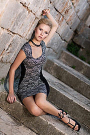 Martina Novotna model (modelka). Photoshoot of model Martina Novotna demonstrating Fashion Modeling.Fashion Modeling Photo #91971