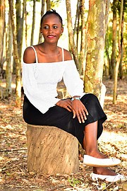 Mary Muthoni model. Photoshoot of model Mary Muthoni demonstrating Fashion Modeling.Fashion Modeling Photo #209328