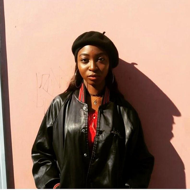 Mary Olagbegi model (μοντέλο). Photoshoot of model Mary Olagbegi demonstrating Face Modeling.Face Modeling Photo #202102