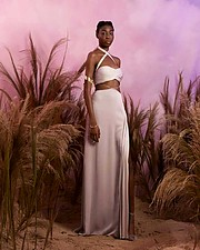 Mary Olagbegi model (μοντέλο). Photoshoot of model Mary Olagbegi demonstrating Fashion Modeling.Fashion Modeling Photo #218268