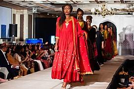 Maryanne Ndung'u model. Photoshoot of model Maryanne Ndungu demonstrating Runway Modeling.Runway Modeling Photo #170072