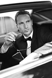 Matt Chambers model. Photoshoot of model Matt Chambers demonstrating Face Modeling.Face Modeling Photo #168167