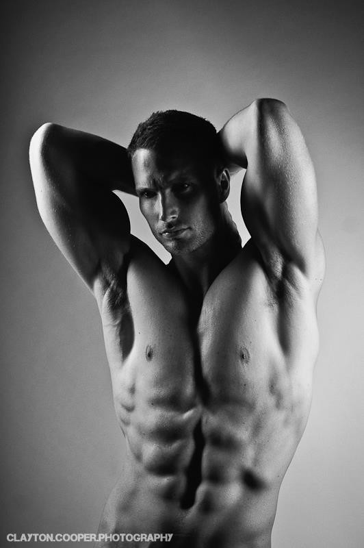 Matt Chambers model. Matt Chambers demonstrating Body Modeling, in a photoshoot by Clayton Cooper.Body Modeling Photo #168168