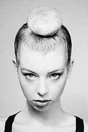 Matt Licari photographer. Work by photographer Matt Licari demonstrating Portrait Photography.Top Knot BunPortrait Photography Photo #142293