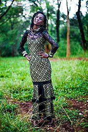 Maureen Nduta model. Photoshoot of model Maureen Nduta demonstrating Fashion Modeling.Fashion Modeling Photo #136353