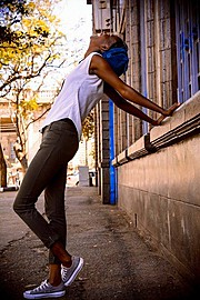 Maureen Nduta model. Photoshoot of model Maureen Nduta demonstrating Fashion Modeling.Chase Bank Instameet street-shootPhotography : MaingiKuriaLocation : Nairobi, KenyaLookbookFashion Modeling Photo #159826