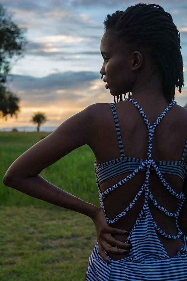 Fashion Model See Through