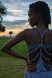 Maureen Nduta model. Photoshoot of model Maureen Nduta demonstrating Fashion Modeling.Photography : Maingi KuriaEditorial Scene,See Through DressFashion Modeling Photo #166242