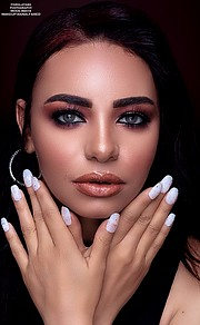 Maya Nasr model. Modeling work by model Maya Nasr. Photo #223509