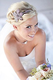 Megan Mikita hair stylist. hair by hair stylist Megan Mikita.Bridal Hair Styling Photo #64523