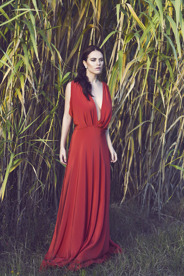 Melania Dalla Costa actress & model. Photoshoot of model Melania Dalla Costa demonstrating Fashion Modeling.Maria La TorreFashion Modeling Photo #206461