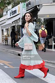 Melania Dalla Costa actress & model. Photoshoot of model Melania Dalla Costa demonstrating Fashion Modeling.Melania Dalla Costa Cannes Film Festival 2018Fashion Modeling Photo #207258