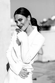 Melania Dalla Costa actress & model. Photoshoot of model Melania Dalla Costa demonstrating Fashion Modeling.Melania Dalla Costa by Maria La TorreFashion Modeling Photo #214048
