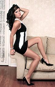 Melanie Sciullo model & hair stylist. Photoshoot of model Melanie Sciullo demonstrating Fashion Modeling.Fashion Modeling,Fashion Hair Styling Photo #109033