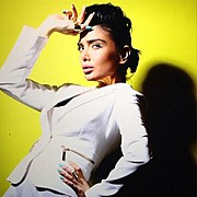 Melika Zamani model. Photoshoot of model Melika Zamani demonstrating Fashion Modeling.Fashion Modeling Photo #127877