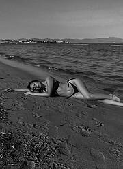 Melitini Vitta model (Μελιτίνη Βήττα μοντέλο). Photoshoot of model Melitini Vitta demonstrating Body Modeling.Body Modeling Photo #232057