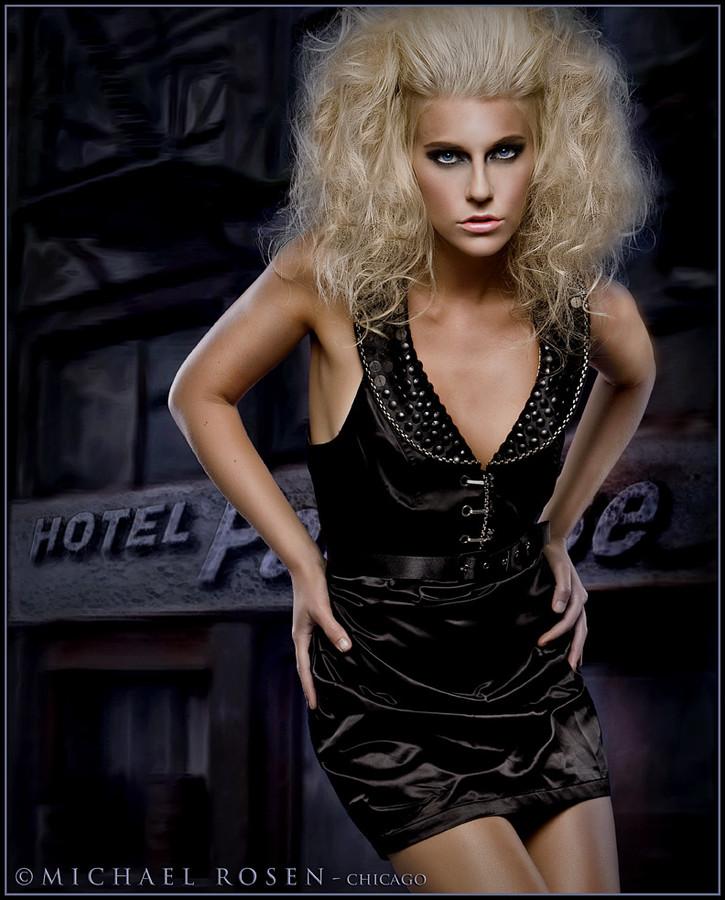Mersina Blackman model. Mersina Blackman demonstrating Fashion Modeling, in a photoshoot by Michael Rosen.Photographer: Michael RosenFashion Modeling Photo #102391