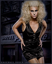 Mersina Blackman model. Mersina Blackman demonstrating Fashion Modeling, in a photoshoot by Michael Rosen.Photographer: Michael RosenFashion Modeling Photo #102391