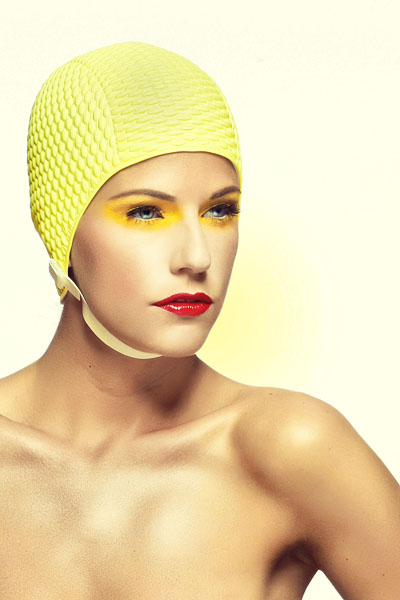 Mersina Blackman model. Photoshoot of model Mersina Blackman demonstrating Face Modeling.Face Modeling Photo #102393